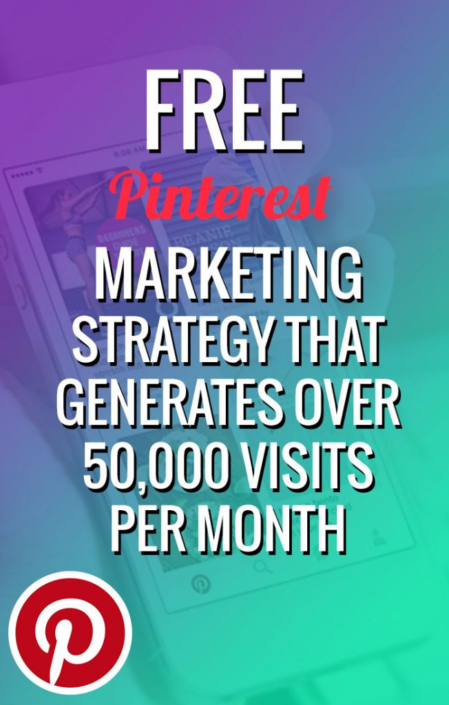 Free Pinterest Marketing Strategy