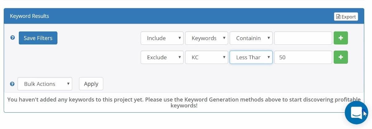 a screenshot of long tail pro, a google keyword tool alternative 5