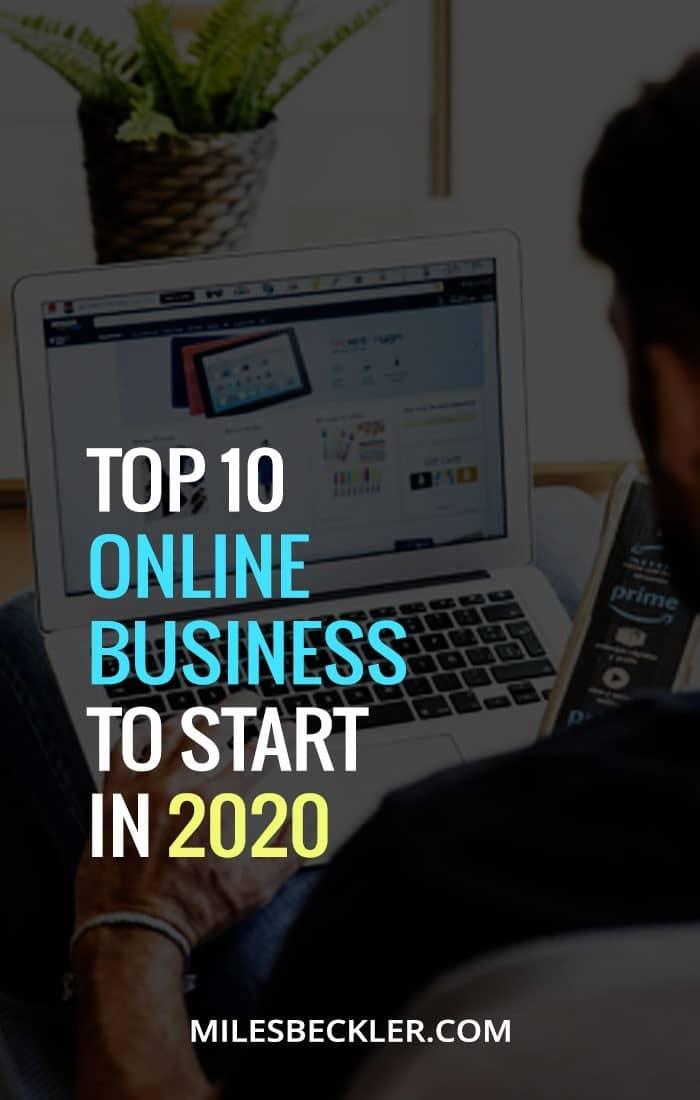 Top 10 Online Business Ideas In 2020