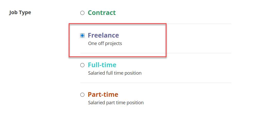 freelance option